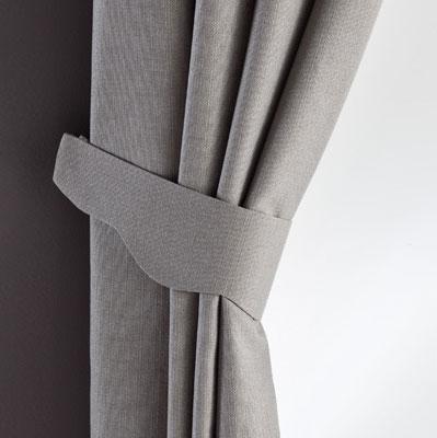 modèle embrasse rideau tissu